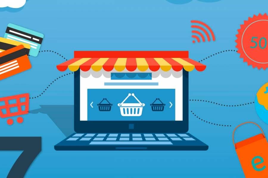 site de compras online