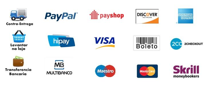 pagamentos nos negócios online