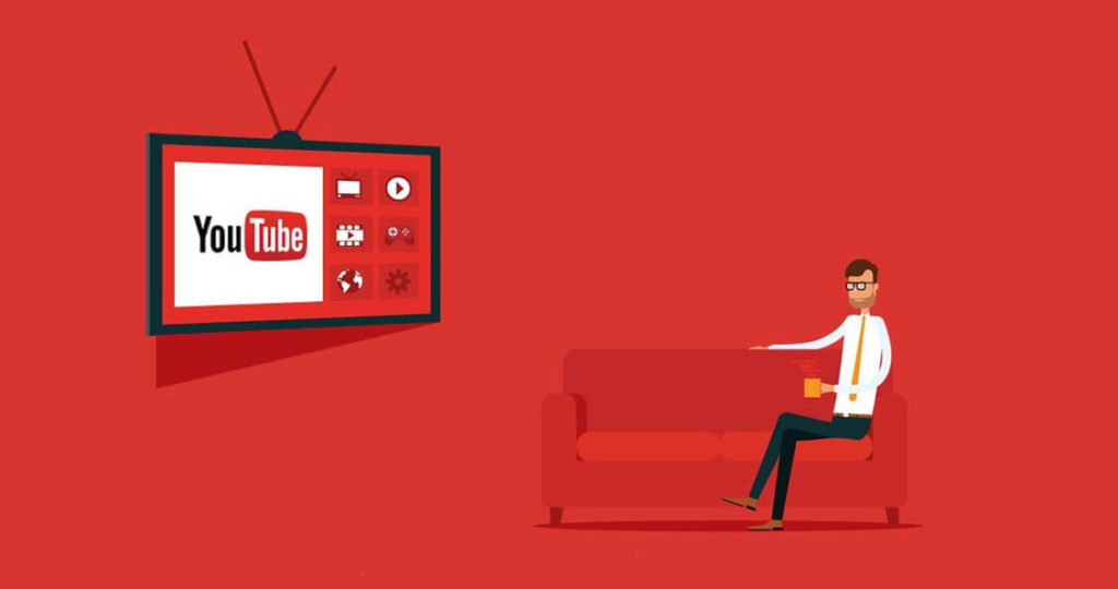 Crie um canal no Youtube